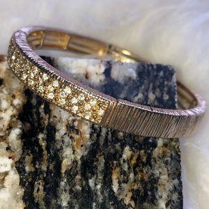 LOFT | Pave Gold Bracelet